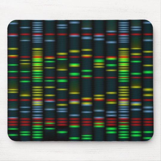 Colourful DNA fingerprinting Mousepad