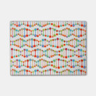 Colourful DNA structure pattern Post-it Notes