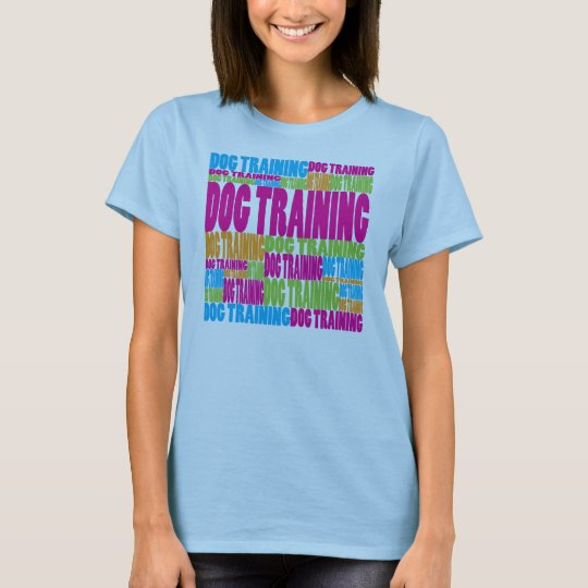Colourful Dog Training T-Shirt
