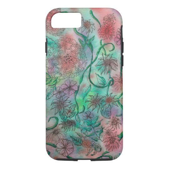 Colourful Doodle Art iPhone 8/7 Case