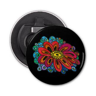 Colourful doodle bottle opener