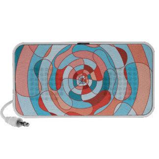 Colourful Doodle Mp3 Speaker