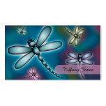 Colourful Dragonfly Mummy Contact Card Pack Of Standard Business Cards