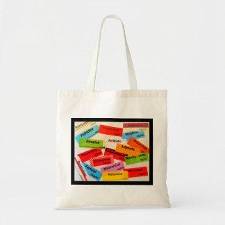 Colourful Drug Label Bag