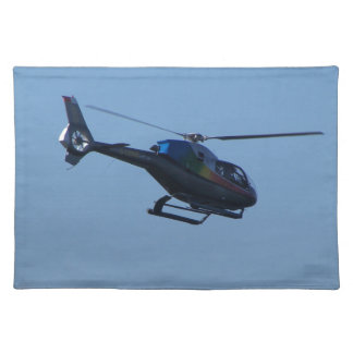 Colourful E120 helicopter Placemat