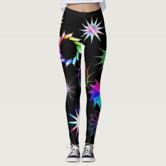 Colourful Efek Leggings