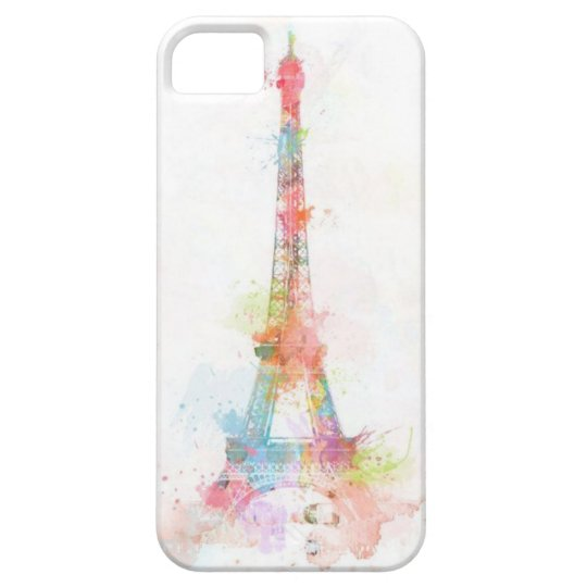 Colourful Eiffel Tower IPhone 5/5S Case
