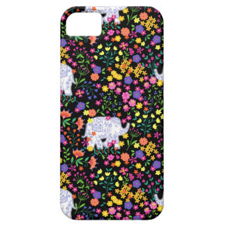 Colourful elephant floral Indian inspired design iPhone 5 Case