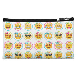 Colourful Emoji Cosmetics Bag Makeup Bags