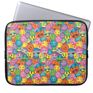 Colourful Emoji Print Sleeve
