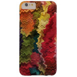 Colourful Fabric Abstract iPhone 6 Plus Case Barely There iPhone 6 Plus Case