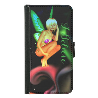 Colourful fairy wallet case for Galaxy & iPone