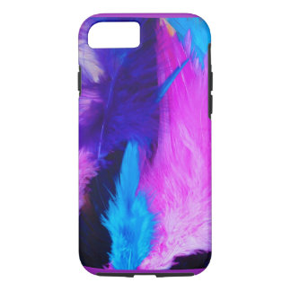 Colourful Feathers Apple iPhone Case