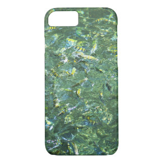 Colourful fish in clear water in Saint Lucia iPhone 7 Case