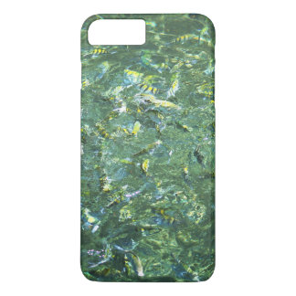 Colourful fish in clear water in Saint Lucia iPhone 7 Plus Case