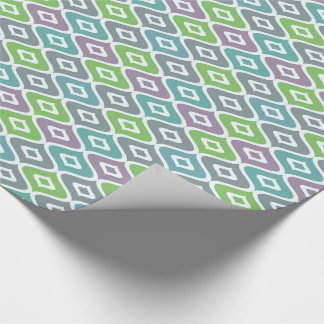 "Colourful Fish-Linen Wrapping Paper, 30"" x 15' Wrapping Paper"