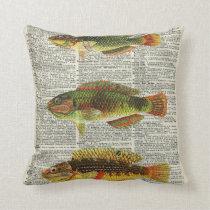 Colourful Fishes Cushion