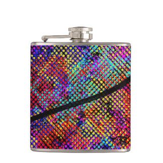Colourful flask