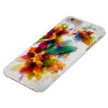 Colourful Floral Barely There iPhone 6 Plus Case