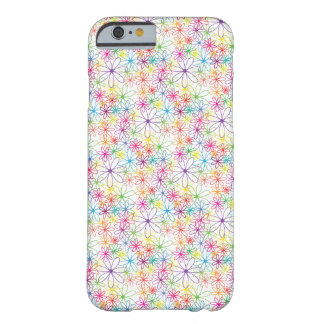 Colourful Floral Design - iPhone 6 Case / Skin Barely There iPhone 6 Case