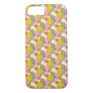 Colourful Floral Design - iPhone 7 Case / Skin