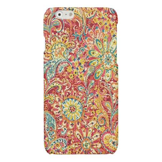 Colourful Floral iPhone 6 Case iPhone 6 Plus Case