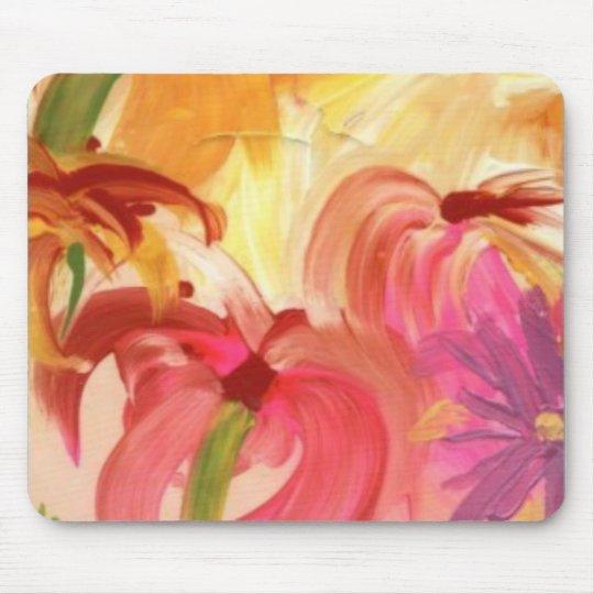 Colourful Floral Mousepad