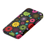 Colourful Floral Pattern Blackberry Bold Case