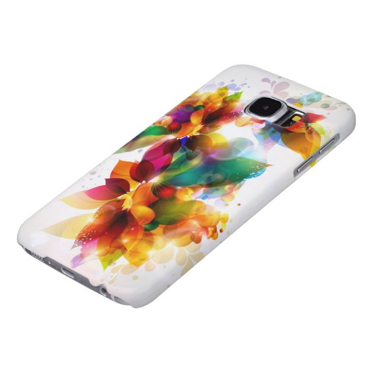 Colourful Floral Samsung Galaxy S6 Cases