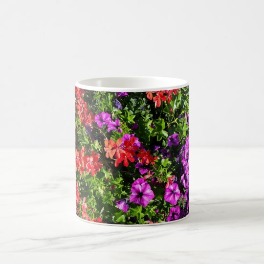 Colourful Flower Mug