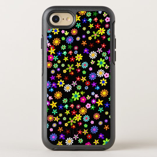Colourful Flowers OtterBox Symmetry iPhone 7 Case