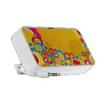 Colourful Flowers Travelling Speakers
