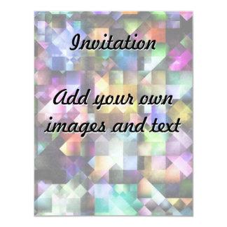 Colourful Fractal Jewels Card