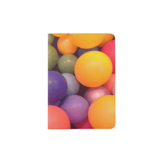 Colourful Fun Ball Pit Pattern Passport Holder