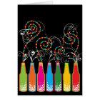 Colourful Fun Bubbly Celebrations Birthday Card