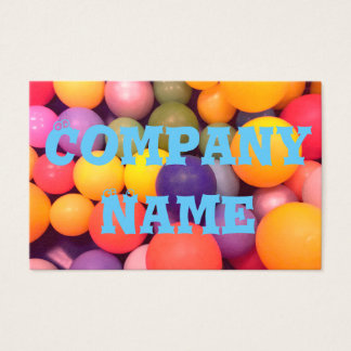 Colourful Fun Business Cards
