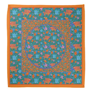 Colourful Fun Fish in the Sea Bandana