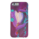 Colourful funky frog iPhone 6 case Barely There iPhone 6 Case