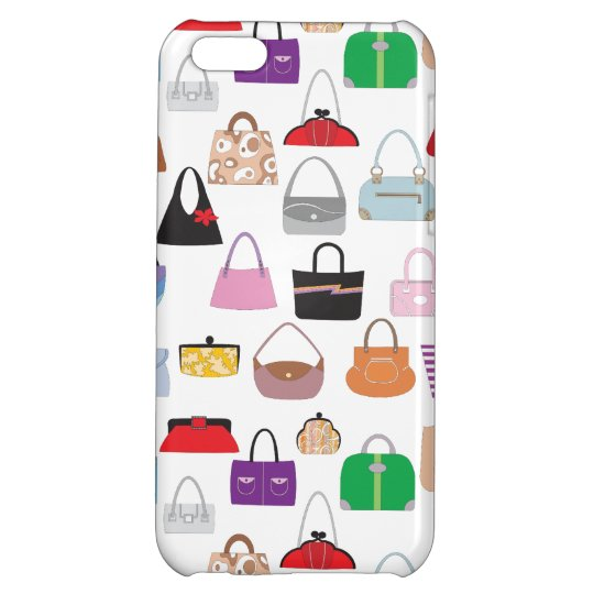 Colourful Funky Purses iPhone 5C Cases