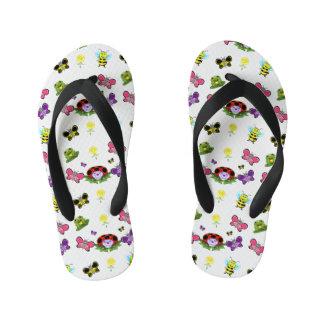 Colourful Garden Kids Flip Flops