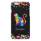 Colourful Geometric Cat Savvy iPhone 6 Case