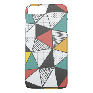 Colourful Geometric Iphone7 Plus Case