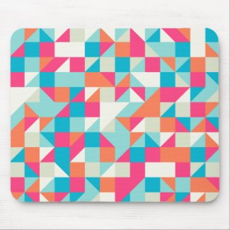 Geometric Triangle Mouse Mat