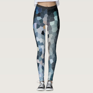 Colourful geometrical leggings