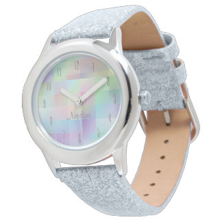Colourful girls' wristwatch