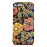 Colourful Glass Beads Vintage Floral Design Barely There iPhone 6 Case