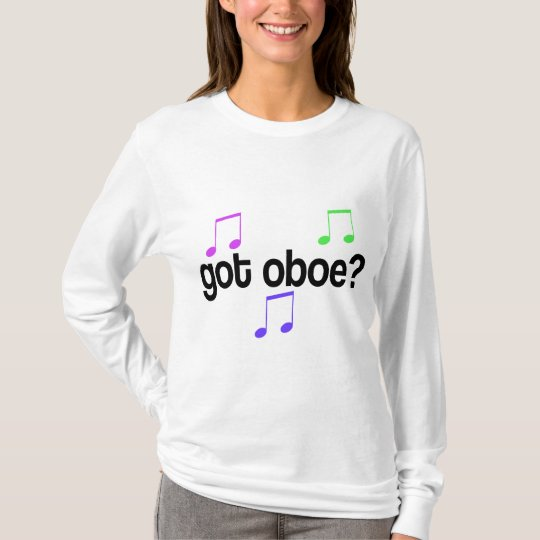 Colourful Got Oboe Music T-shirt