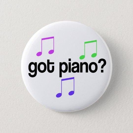 Colourful Got Piano Music Button
