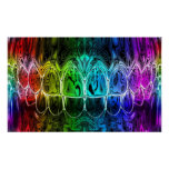 Colourful Gradient Perfect Smile Dentist Poster