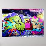 Colourful Graffiti Art